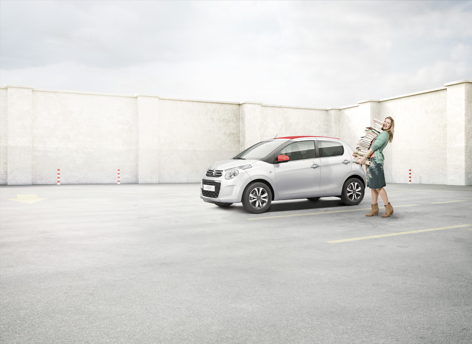 Read-out mother, for Citroën private lease